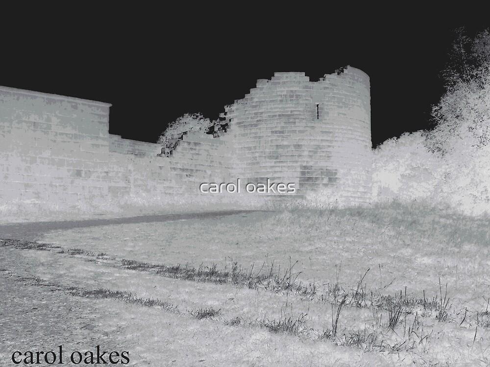 ghost castle by carol oakes