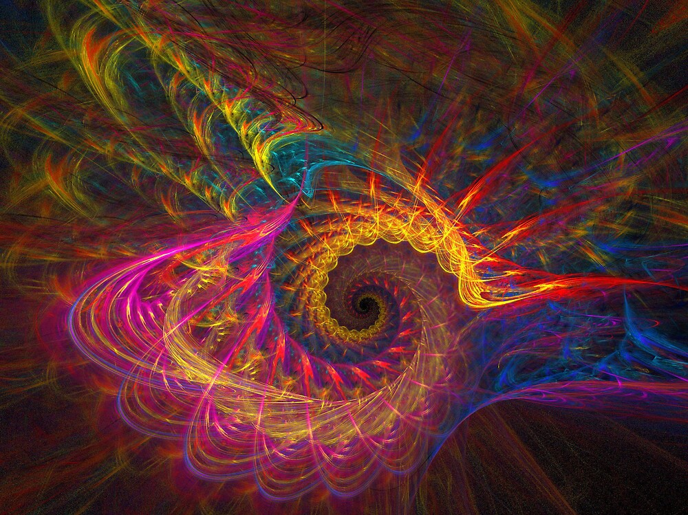 Seashell Fractral by Michael Jeffries