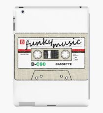 Funky Music Mix Tape iPad Case/Skin