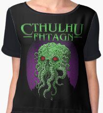 Cthulhu Fhtagn! Women's Chiffon Top