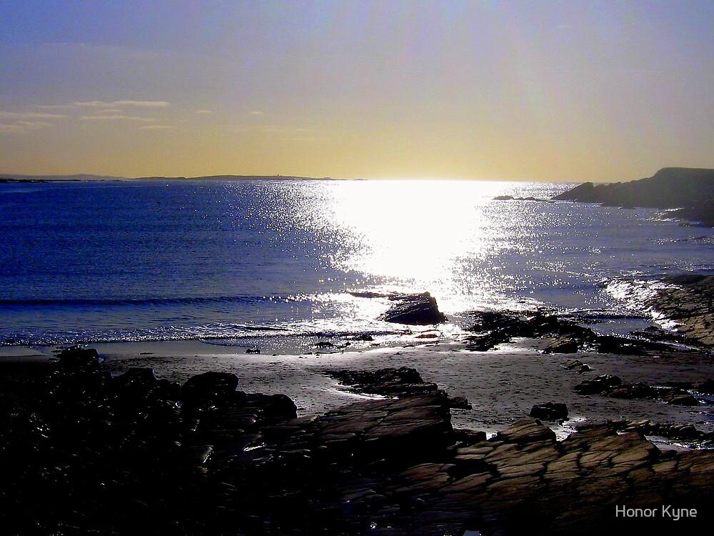 Sea... lights and shadows :) by Honor Kyne