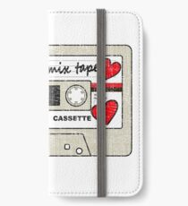 I Made You a Mix tape Cassette Tape  iPhone Wallet/Case/Skin