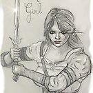 « Cirilla, fight like a girl » par ManoonFrance