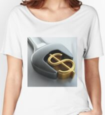 Make Money! the first million is hard Women's Relaxed Fit T-Shirt