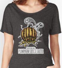 Secret Origins: Pumpkin Spice Latte Women's Relaxed Fit T-Shirt