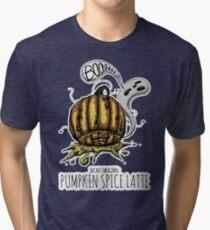 Secret Origins: Pumpkin Spice Latte Tri-blend T-Shirt