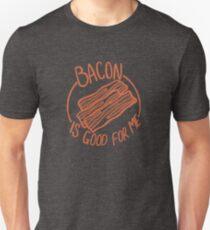 Camiseta ajustada El tocino es bueno para mí - Amante del tocino - Meme divertido