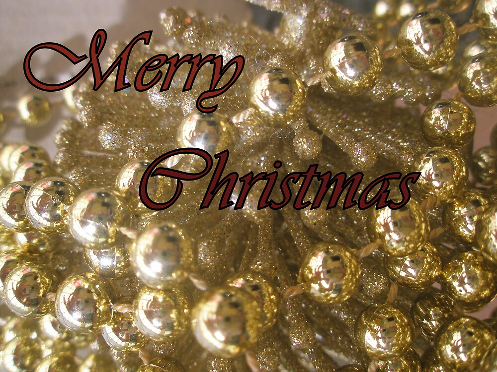 Merry Christmas Card by Melissa Park