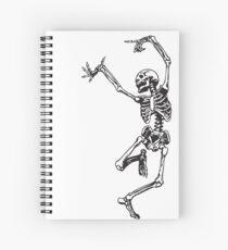 Dance With Death Spiral Notebook