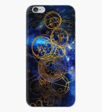 Time Lord Writing (bleu) Coque et skin iPhone