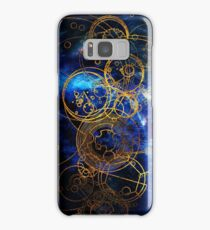 Time Lord Writing (blue) Samsung Galaxy Case/Skin