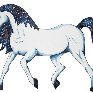 Galaxy Unicorn by christinaashman