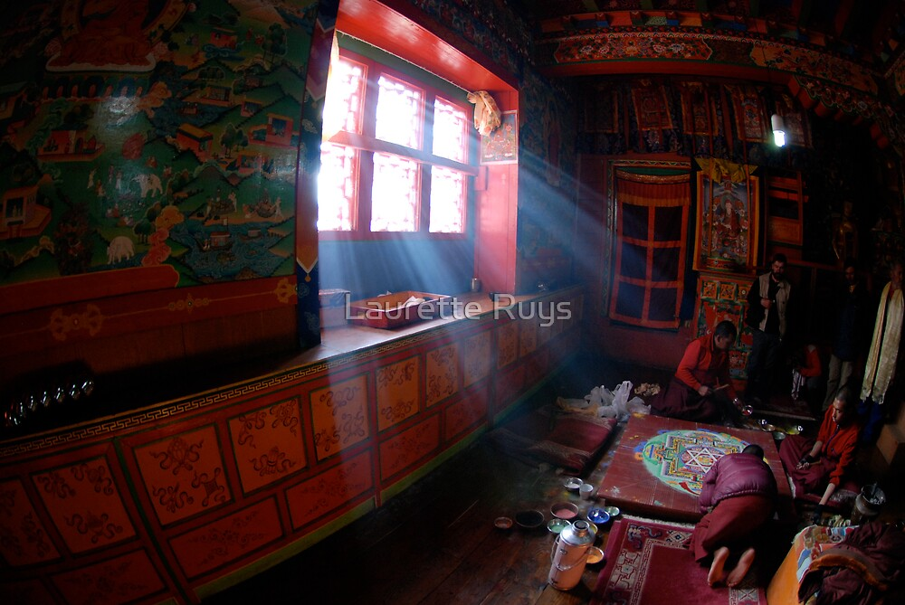 Thyanboche Monastery by laurette