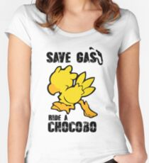 Chocobo!  Women's Fitted Scoop T-Shirt