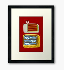 Canned Fish Framed Print
