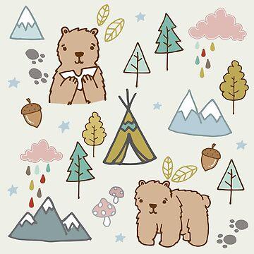 Bear Picnic  by brogantickner