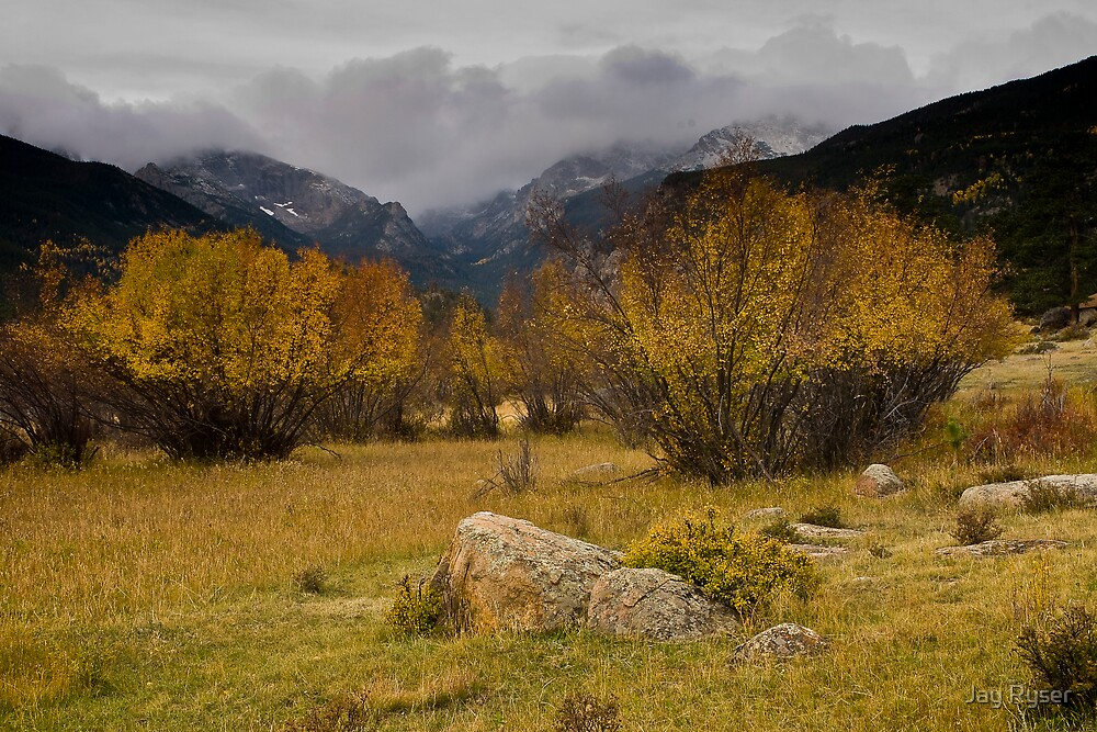 Fall in Morraine Park by Jay Ryser