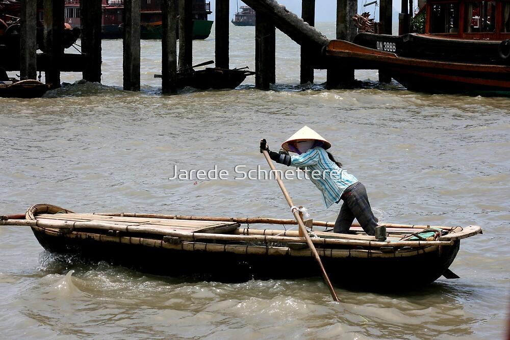 Boat Woman by Jarede Schmetterer