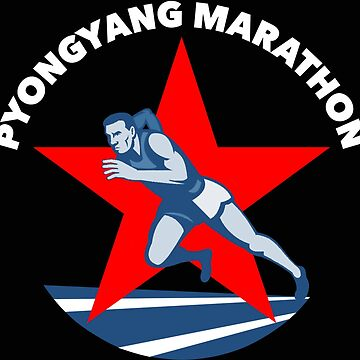Pyongyang Marathon, North Korea by radpidgeons