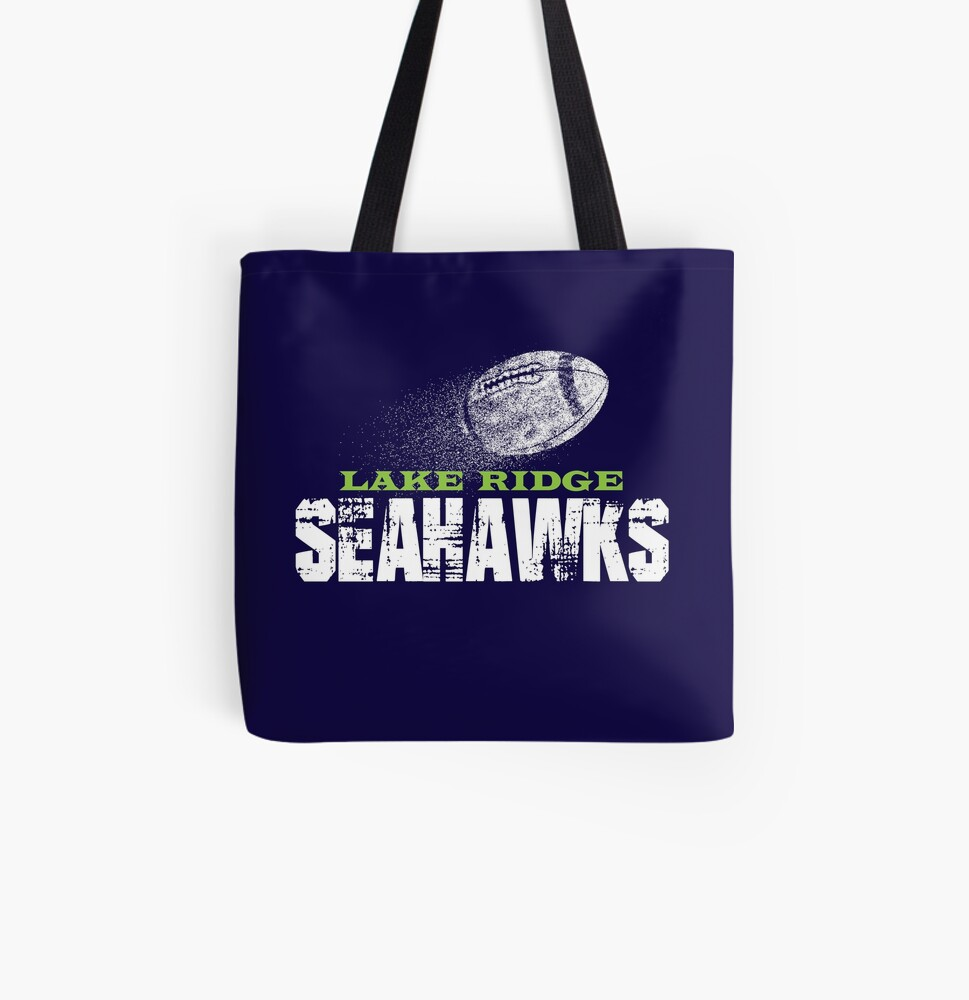 Lake Ridge Seahawks All Over Print Tote Bag