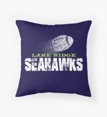 Lake Ridge Seahawks Throw Pillow
