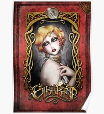 CABARET cover - Art Nouveau framed Pin up Poster