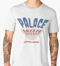 Palace Arcade Tribute Distressed - Stranger Things 2 Men's Premium T-Shirt