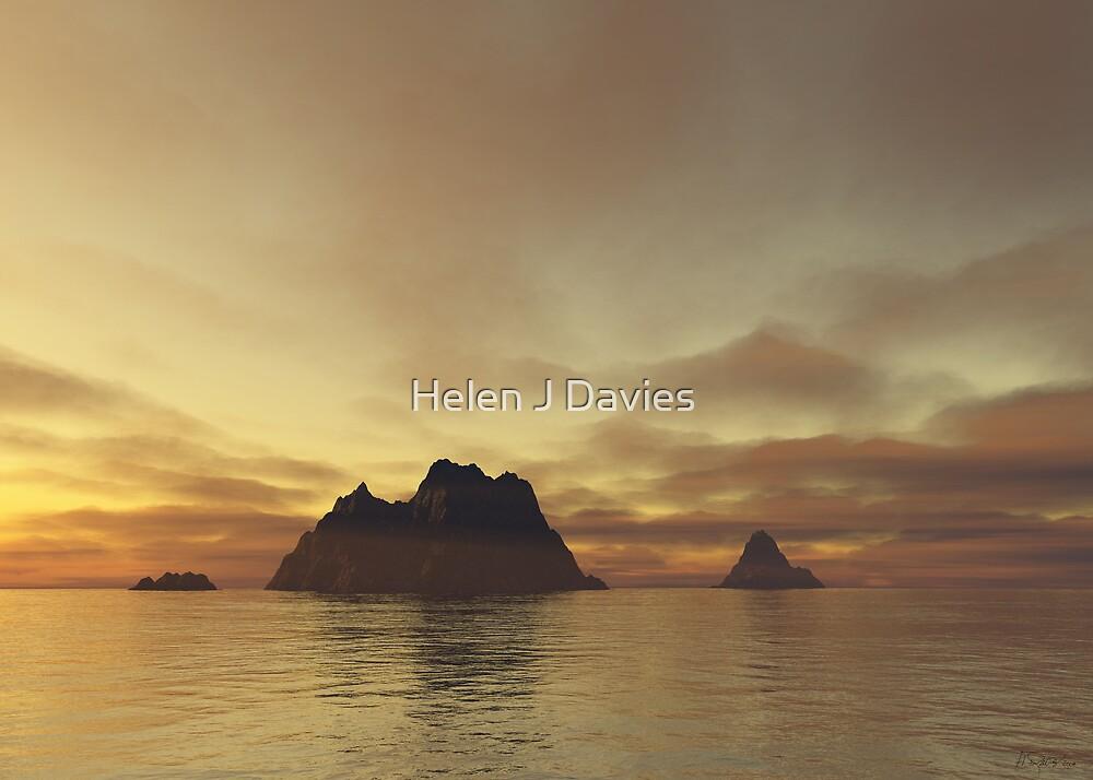 Tranquil Islands by Helen J Davies