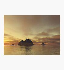 Tranquil Islands Photographic Print