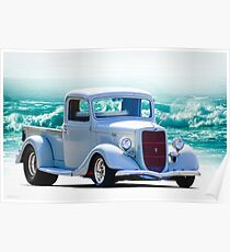 1936 Ford 'Hot Rod' Pickup II Poster