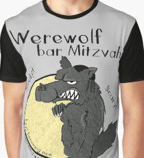 Werewolf Bar Mitzvah Graphic T-Shirt