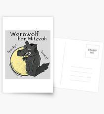 Werewolf Bar Mitzvah Postcards