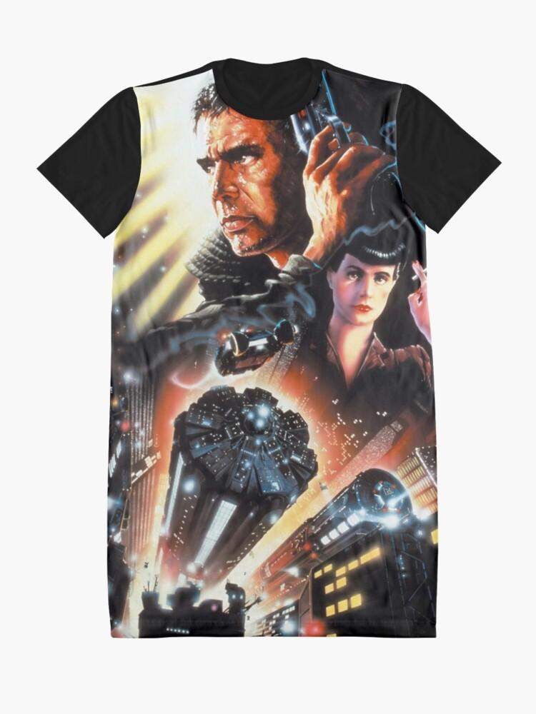 Alternate view of BLADE RUNNER Graphic T-Shirt Dress