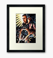 BLADE RUNNER Framed Print