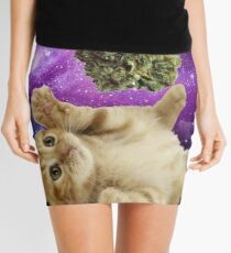 Space kitten  Mini Skirt