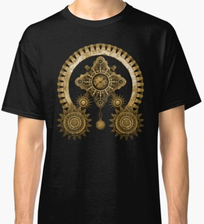 Steampunk Mystery Machine Classic T-Shirt
