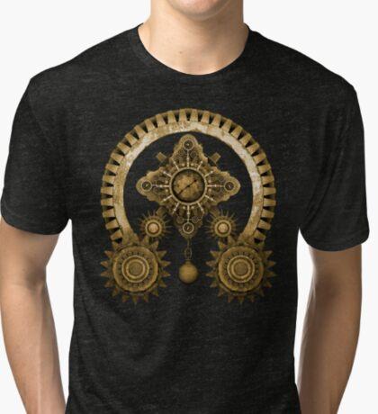 Steampunk Mystery Machine Tri-blend T-Shirt