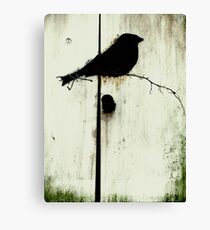 Early Bird  - JUSTART ©  Canvas Print