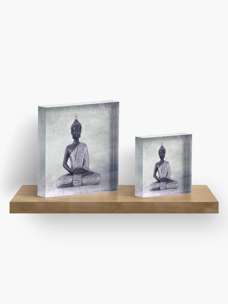 Alternate view of Buddha - JUSTART © Acrylic Block