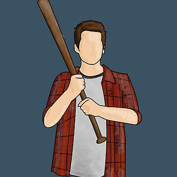 The Boy With The Bat by DMJADESIGN