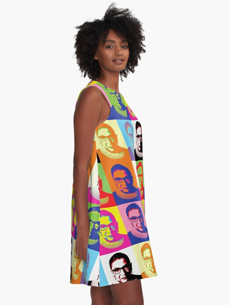 Alternate view of ruth bader ginsburg A-Line Dress