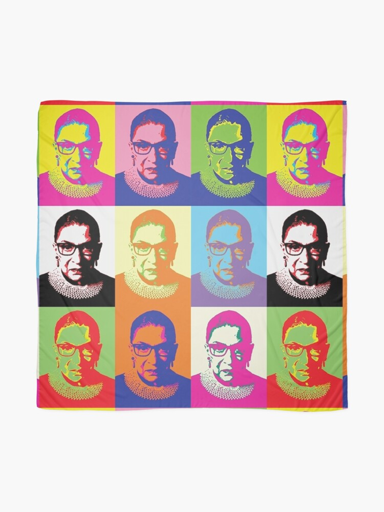 Alternate view of ruth bader ginsburg Scarf