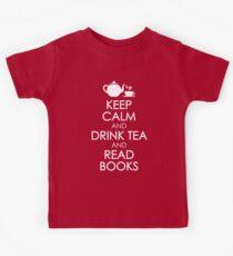 Drink Tea & Read Books Kids Clothes