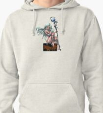 Mirrorwood Warrior Witch with Logo Pullover Hoodie