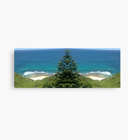 Super Sea Shorebreak Canvas Print