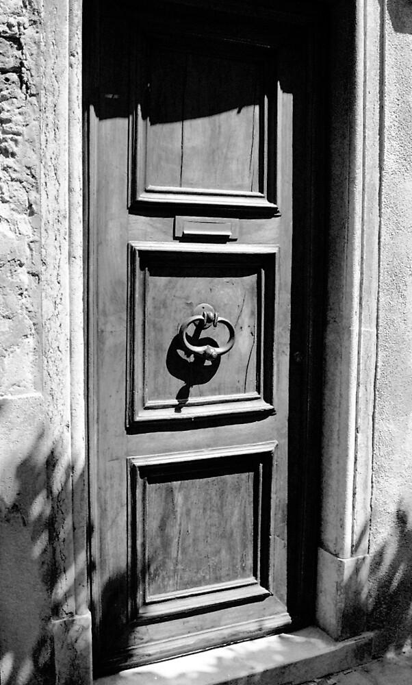 Door and Knocker in Venice by Calvin Hanson