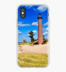 Petite Pointe Au Sable Lighthouse iPhone Case