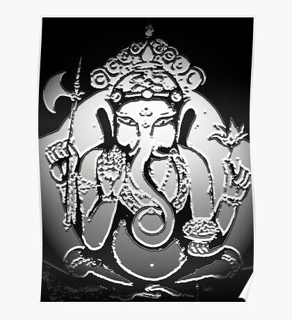 Emerging Spirit of Ganesha Poster