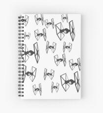 Tie Fighters - Star Wars Spiral Notebook