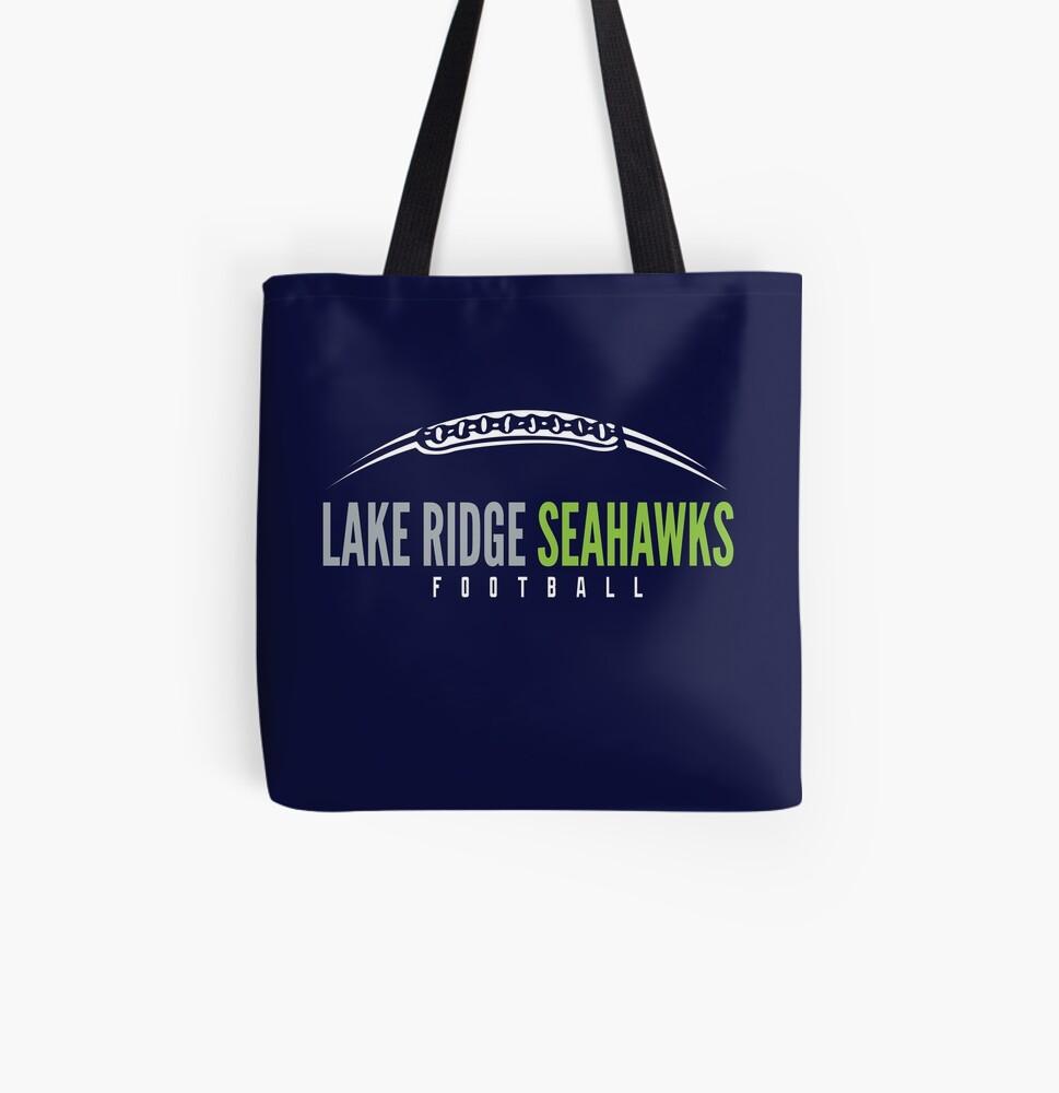 Lake Ridge Seahawks | Laces All Over Print Tote Bag